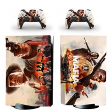 Mafia Definitive Edition PS5 Skin Sticker For PlayStation 5 And Controllers