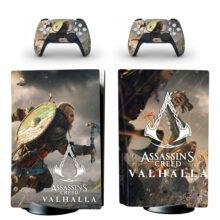 Assassin's Creed Valhalla PS5 Skin Sticker Decal Design 3