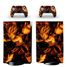 Dragon Ball Z PS5 Skin Sticker For PlayStation 5 And Controllers Design 8