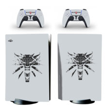 The Witcher Skin Sticker Decal For PlayStation 5