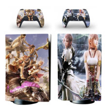 Final Fantasy XIII Skin Sticker For PS5 Skin And Controllers