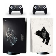Winter Is Coming Skin Sticker Decal For PlayStation 5