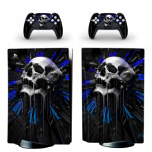 Cold Blank Die Famous Skeleton Skin Sticker For PlayStation 5 And Controllers