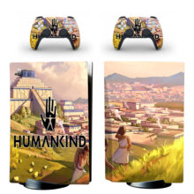 Humankind PS5 Skin Sticker For PlayStation 5 And Controllers