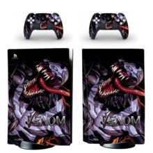 Venom PS5 Skin Sticker Decal Design 4
