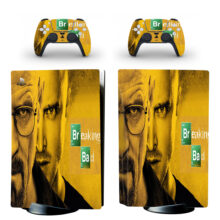 Breaking Bad PS5 Skin Sticker Decal