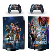 Jump Force PS5 Skin Sticker For PlayStation 5 And Controllers Design 5