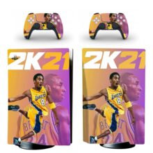 NBA 2K21 Skin Sticker Decal For PlayStation 5
