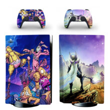 Fortnite Spire PS5 Skin Sticker For PlayStation 5 And Controllers