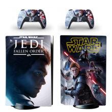 Star Wars PS5 Skin Sticker Decal Design 2