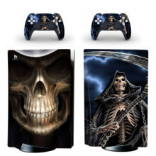 Devil Of Death Skin Sticker For PS5 Skin And Controllers