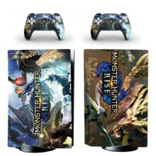 Monster Hunter Rise Skin Sticker For PS5 Skin And Controllers