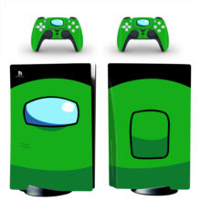 Green Among US Skin Sticker Decal For PlayStation 5