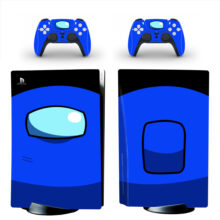 Blue Among US Skin Sticker Decal For PlayStation 5