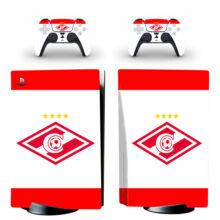 FC Spartak Moscow Wallpaper Skin Sticker Decal For PlayStation 5