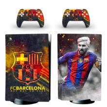 FC Barcelona PS5 Skin Sticker Decal Design 5