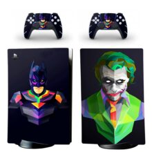 Joker Skin Sticker Decal For PS5 Digital Edition And Controllers Design 1