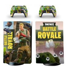Fortnite Battle Royale PS5 Digital Edition Skin Sticker Decal