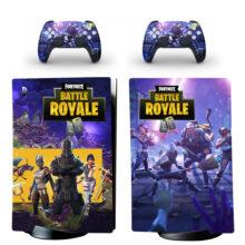 Fortnite Battle Royale Skin Sticker Decal For PS5 Digital Edition