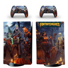 Fortnitemares Skin Sticker Decal For PS5 Digital Edition