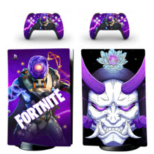 Fortnite Skin Sticker Decal For PS5 Digital Edition Design 4