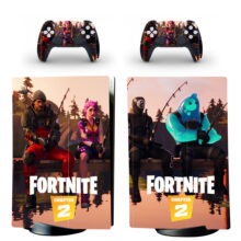 Fortnite Skin Sticker Decal For PS5 Digital Edition Design 6