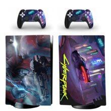 Cyberpunk PS5 Digital Edition Skin Sticker Decal