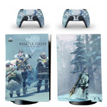 Monster Hunter World Iceborne PS5 Digital Edition Skin Sticker Decal Design 1
