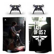 The Last Of US 2 PS5 Digital Edition Skin Sticker Decal