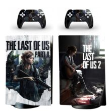 The Last Of US Part II Skin Sticker Decal For PS5 Digital Edition And Controllers Design 3