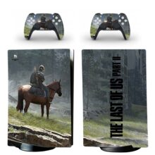 The Last Of US Part II PS5 Digital Edition Skin Sticker Decal Design 1