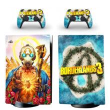 Borderlands 3 PS5 Digital Edition Skin Sticker Decal Design 2