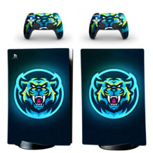 Lion PS5 Digital Edition Skin Sticker Decal