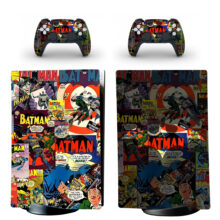 Batman Arkhan Knight PS5 Digital Edition Skin Sticker Decal Design 6