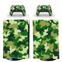 Military Wallpaper PS5 Digital Edition Skin Sticker Decal Design 1