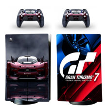 Gran Turismo 5 Skin Sticker Decal For PS5 Digital Edition And Controllers