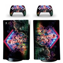 Starcourt Mall Skin Sticker Decal For PS5 Digital Edition And Controllers