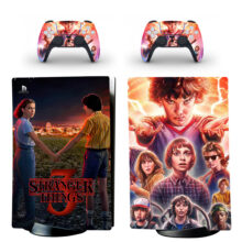 Stranger Things Skin Sticker Decal For PS5 Digital Edition Design 1