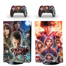 Stranger Things Skin Sticker Decal For PS5 Digital Edition Design 3
