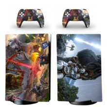 Dragon Skin Sticker Decal For PS5 Digital Edition And Controllers