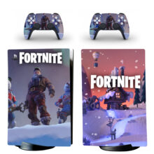 Fortnite Skin Sticker Decal For PS5 Digital Edition Design 10
