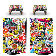 Comics Skin Sticker Decal For PS5 Digital Edition And Controllers