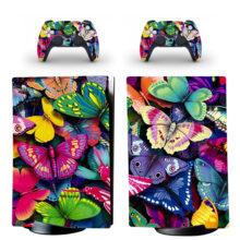 Butterflies Wallpaper Skin Sticker Decal For PS5 Digital Edition
