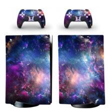 Milky Way Galaxy Pattern PS5 Digital Edition Skin Sticker Decal Design 2