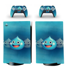 Dragon Quest Heroes Rocket Slime PS5 Digital Edition Skin Sticker Decal
