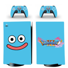 Dragon Quest Heroes Rocket Slime Skin Sticker Decal For PS5 Digital Edition And Controllers