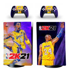 NBA 2K21 Skin Sticker Decal For PS5 Digital Edition And Controllers