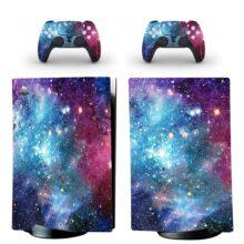 Milky Way Galaxy Pattern PS5 Digital Edition Skin Sticker Decal Design 5