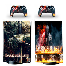 Dark Souls Skin Sticker Decal For PS5 Digital Edition Design 2