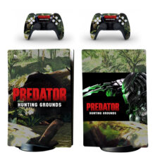 Predator Hunting Grounds Skin Sticker Decal For PS5 Digital Edition
